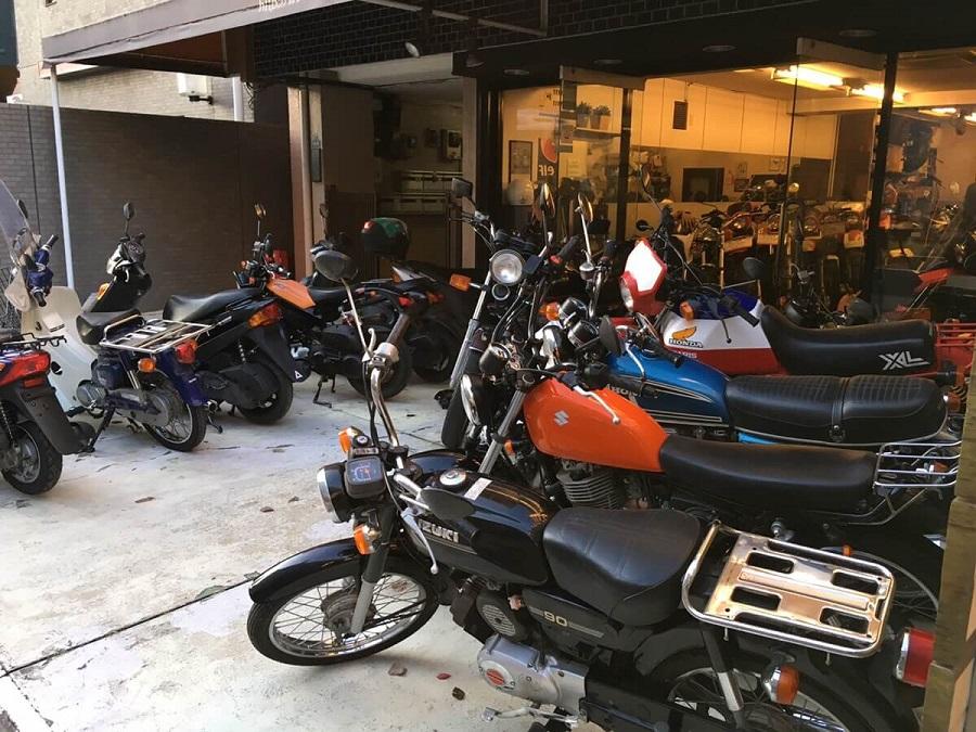 複数のバイク
