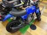 小型のバイク